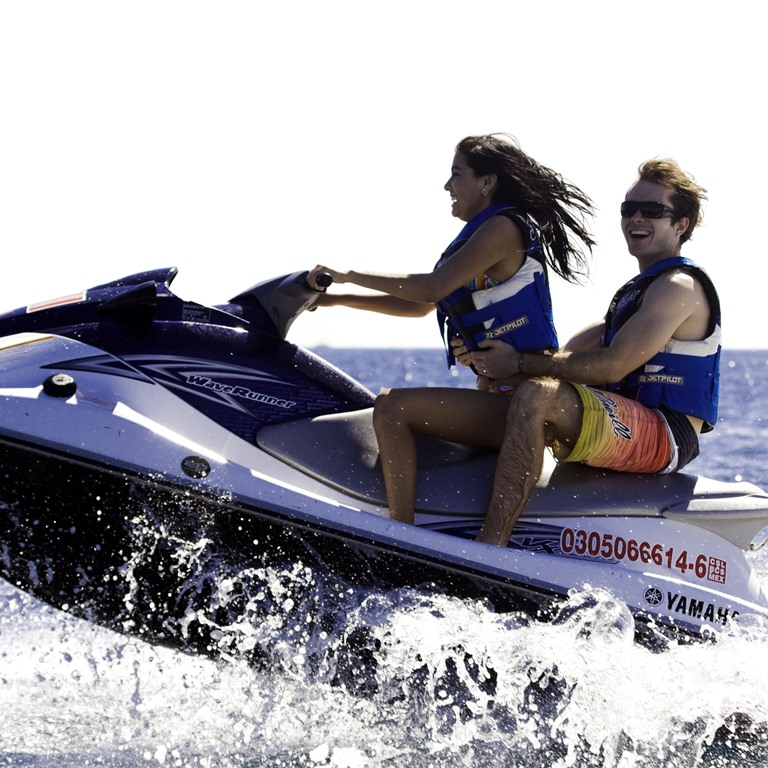 Waverunners in Cabo San Lucas Bay